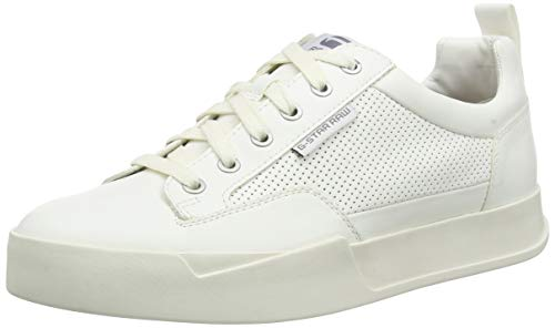 G-STAR RAW Herren Rackam Core Low Sneaker, Weiß (White A940-110), 46 EU