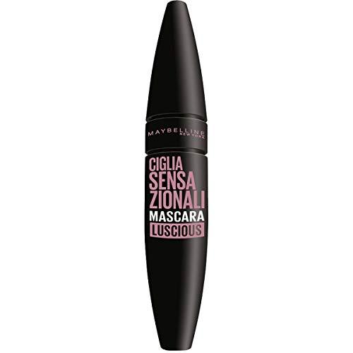 Maybelline New York Mascara Ciglia Sensazionali, Volumizzante, Effetto Ventaglio sulle Ciglia, Luscious, 9.5 ml