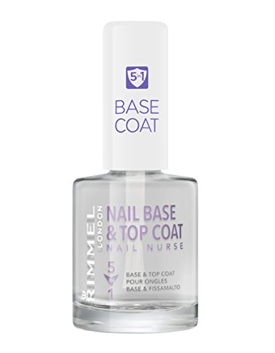 Rimmel London Nail Nurse Base & Top Coat 5 en 1 Tratamiento para uñas Tono 5 en 1 - 47 gr