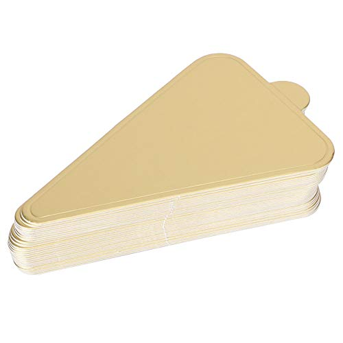Cake Board Triangle Exquisito molde para pasteles para postre para galletas