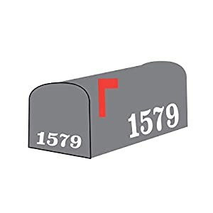 Mailbox Numbers Sticker Decal Vinyl Custom Personalized Customized Text Lettering