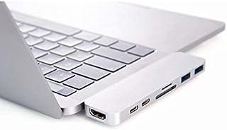 Apple Macbook İçin Thunderbolt 3 HUB + 4K HDMI + Kart Okuyucu + 2 USB 3.0 Markacase (Space Gray)
