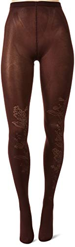 Wolford Jungle Night Tights 50DEN mat dames panty patroon Overknee effect