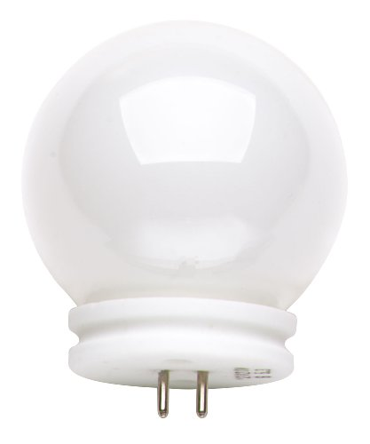 Satco S3187 12V 20-Watt G14 GX5.3 Base Light Bulb, White