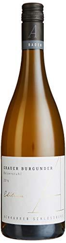 Achkarrer Schlossberg Edition A Grauburgunder Qualitätswein trocken - Superselektion - 100% Ausbau in französischen Limousin-Eiche Barriques (1 x 0.75 l)