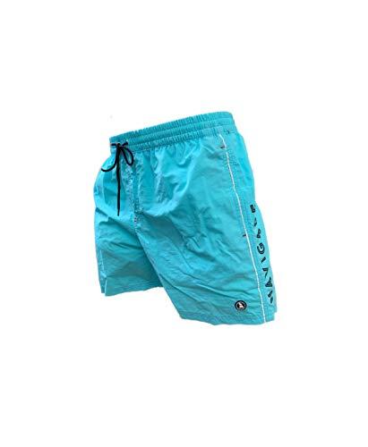 Navigare Boxer Mare Costume Uomo Pantaloncini da Bagno Swim Short Anche in Taglie conformate (Acqua 098370, 4XL)
