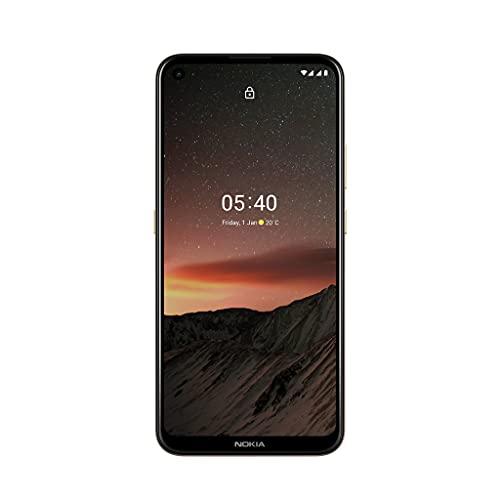 Nokia 5.4 Smartphone mit 6,39-Zoll-HD+-Display, 4 GB RAM, 128 GB Speicher, 48-MP-Vierfach-Kamera, Qualcomm Snapdragon 662, 2 Tagen Akkulaufzeit und Android-Upgrades, Dual-SIM - Midnight Sun - 2