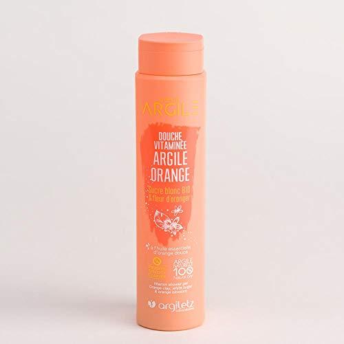 ARGILETZ Gel douche vitaminé 250ml à l'argile orange