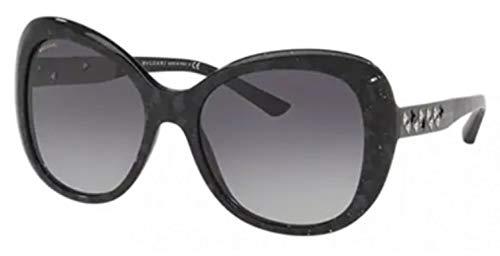 Bulgari 0BV8199B 54128G 55 Gafas de sol, Negro (Mamba), Mujer