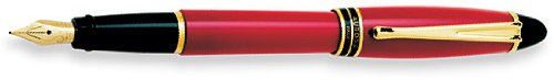 Aurora Ipsilon Resin Red Medium Point Fountain Pen -...