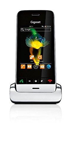 Gigaset SL930H Telefon - Schnurlostelefon / Universal Mobilteil - Farbdisplay - Freisprechen - schnurloses Telefon - Design Telefon - schwarz