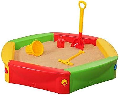 El nuevo outlet de marcas online. Musehouse Arenegro de Niños   Piscina de de de Arena   Arenegro Cangrejero   para Jardin 140 cm   Niños al Aire Libre diversión   Edad 3+ (Sand Box 001)  venderse como panqueques