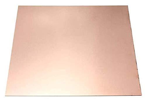 NIANXINN Placa de Cobre Pura Placa de Cobre Hoja de Cobre T2 Hoja de Metal Foil Foil Materiales industriales 55 * 100 * 4mm Hoja de Cobre Puro