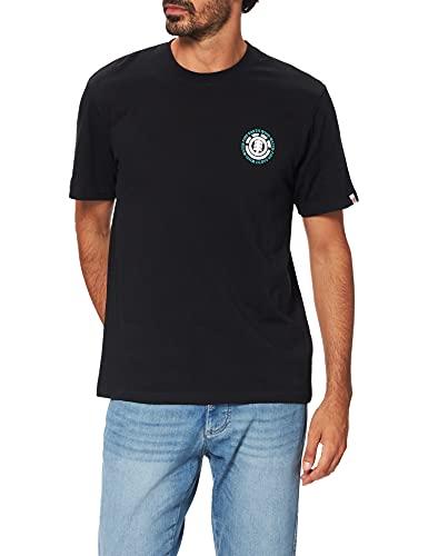 Element Seal BP Camiseta para Hombre, Flint Black, M