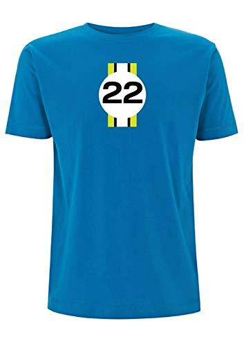 Jenson Camiseta Inspirada en Botones 2009 F1 Campeonato Ganador de Campeonato GP...