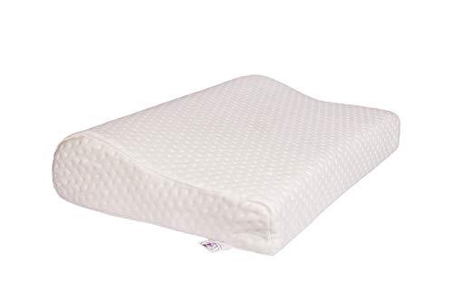 Cloud Pillow - Orthopädisches Ergonomische Nackenkissen Viskoelastischem Gelschaum Weiches Kissen (Memory Foam) (51x37x11/7cm)