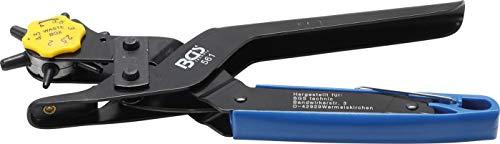 BGS 561 Professionele Revolvertang | Voor karton, leer, papier, latex, etc. | 6 verschillende scherpe holpijpjes