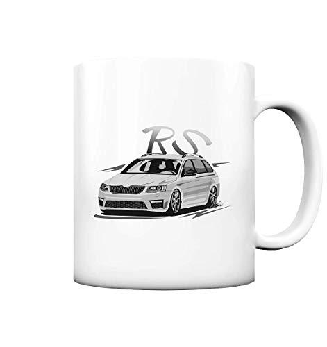 glstkrrn Octavia 3 RS Rennsport no Skulldriver Tasse
