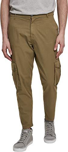 Urban Classics Tapered Pants Cargo Hose Pantalones de Vestir, Summerolive, 32 para Hombre