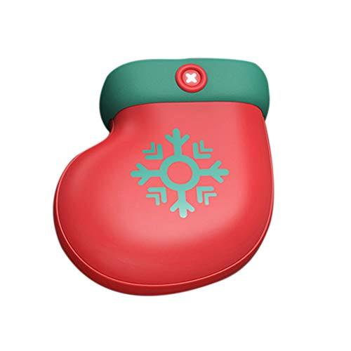 Kerstmis oplaadbare handwarmer 2500 mAh powerbank voor wintersport, skiën, wandelen, kamperen