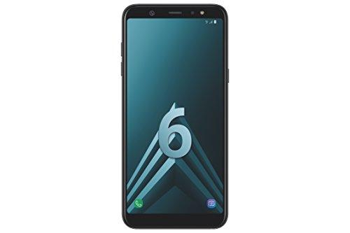 Samsung A6+ Smartphone débloqué 4G (Ecran : 6 Pouces - 32 Go - Double Nano-SIM - Android) Noir
