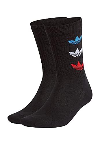 Adidas GN4913 TRI THN RBD CRW Socks unisex-adult black S