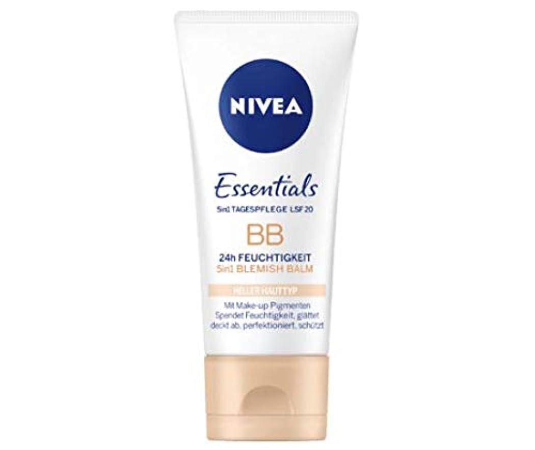 懲戒極めて多分ニベア Nivea BBクリーム Essentials 50ml [並行輸入品]