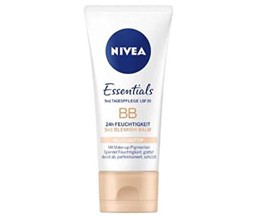 小包繰り返しどこかニベア Nivea BBクリーム Essentials 50ml [並行輸入品]