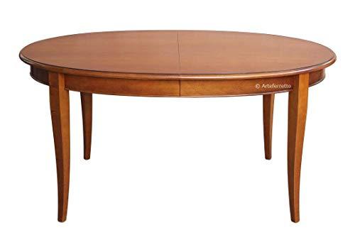 Arteferretto Table Ovale 160 cm à rallonge