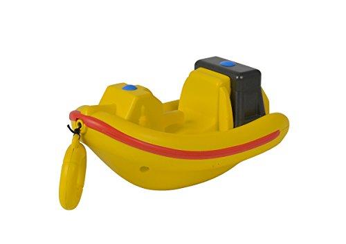 Simba 109252135 - Sam Le Pompier - Bateau à remonter Neptune - avec Cordon de Serrage - 13 cm