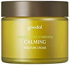 Goodal Houttuynia Cordata Calming Moisture Cream for All Skin Types   Deep Moisturizing, Calming, Instant Hydrating, and S...