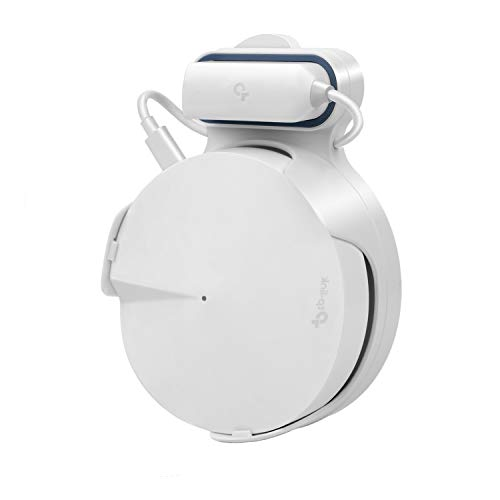 STANSTAR Wall Mount for TP-Link Deco M5 Whole Home Mesh WiFi System, Sturdy Bracket Holder for TP-Link Deco M5 Space Saving TP-Link Router Wall Holder Plug in Without Messy Wires or Screws