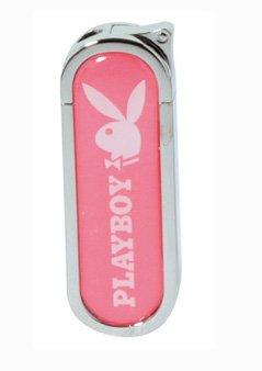 Feuerzeug | Playboy | von Champ | Pietzo | Bunny | wiederbefüllbar | Flame regulierbar | Pink