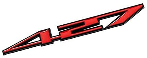 Pegatinas Etiqueta engomada del Coche 400 427 457 Logotecas de Logotipo para SUV ZR1 Corvette Blazer Sonic Cruze Silverado Volt Malibu Camaro Spark Impala (Size : Yellow)