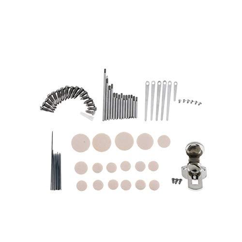 XIAOFANG Klarinette Reparatur-Werkzeug-Set fit for Holzblasinstrument Zubehör (Color : 9 Kinds)