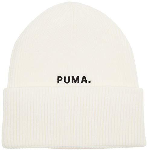 PUMA Hybrid Fit Trend Beanie Gorro, Mujer, White, Adult
