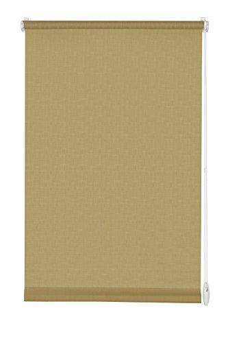 GARDINIA Store Enrouleur à Coller ou Clipser, Store pour Lumière du Jour, Opaque, Kit de Montage Inclus, Store Uni EASYFIX, Brun, 75 x 150 cm (LxH)