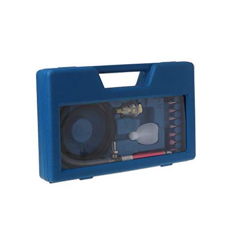 1 Conjunto AT-010K Micro Amoladora de Aire Neumática Molino de Viento Pluma de Rectificado Grabado Pulido Tallado Máquina de Corte Fresado Multifunción