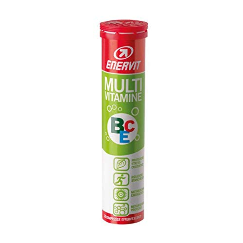 Enervit Sport Multivitamine Integratore Alimentare, 20 Compresse Effervescenti