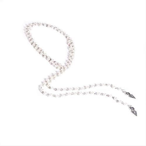 ACRTQ 2019 Mujeres de Moda Largo Collar de Perlas de La Vendimia Gargantilla Cadenas Charm Necklet Regalo de La Joyería