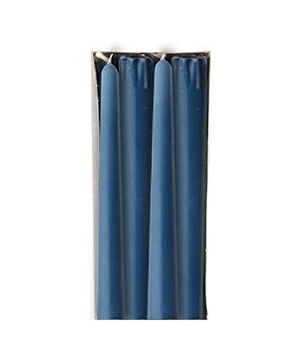Kerzen & Brennzubehör 8 Leuchterkerzen Ø 22 mm · 250 mm dunkelblau aus 100{d959f37b1bed6f2ffa16ed927093fb2b1f1848726ba72c99dec4531ec732763e} Stearin Spitzkerzen blau