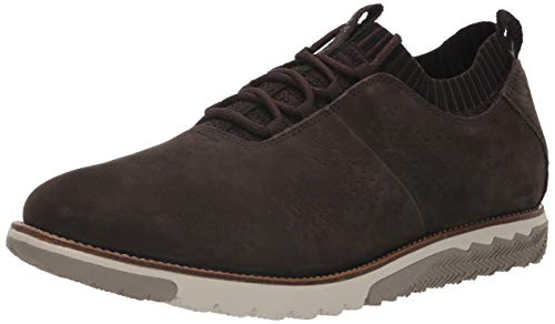 Hush Puppies Expert Knit Oxford, Zapatillas Hombre, Negro Off Black 000, 40.5 EU
