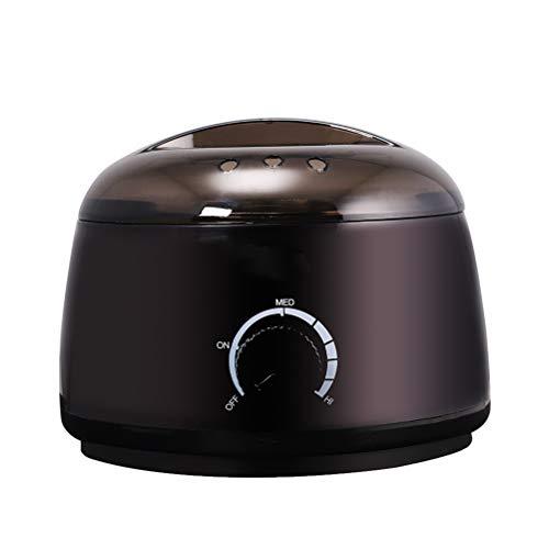 Yeah-hhi Calentador de Cera de Belleza Profesional eléctrico, termostato rotativo Mini Multi-función de Cera eléctrica para la Cara/Cuerpo/extremidades