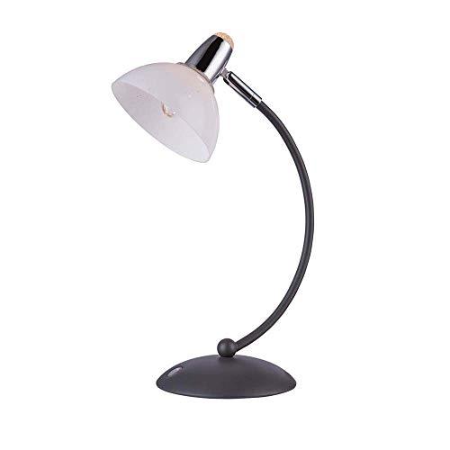 Lámpara de mesa LED 1 x LED de 4 W incluye eficiencia energética: A acrílico 4 W Touchdimmer antracita