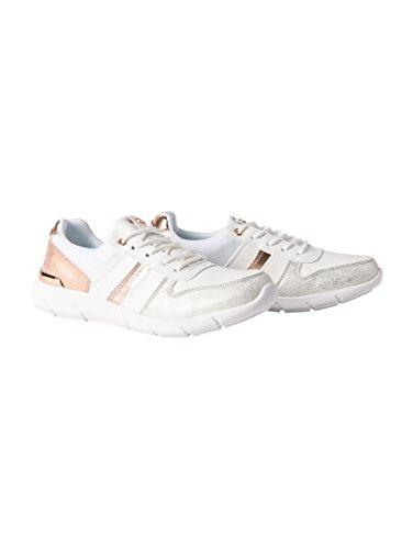 TOM TAILOR Damen 4891705 Sneaker, Weiß (White), 39 EU