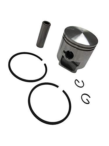 ENGINERUN 44MM Piston Piston Ring Kit - Compatible with Husqvarna 150BF 150BT 350 BT Backpack Leaf Blower OEM 502849601