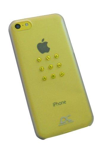 Diamond Cover 305124 Citrine Star - Funda para Apple iPhone 5C, diseño...