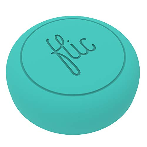 Flic -The Wireless Smart Button, Turquoise - The World's Smartest Button - Control Your Smart Home...