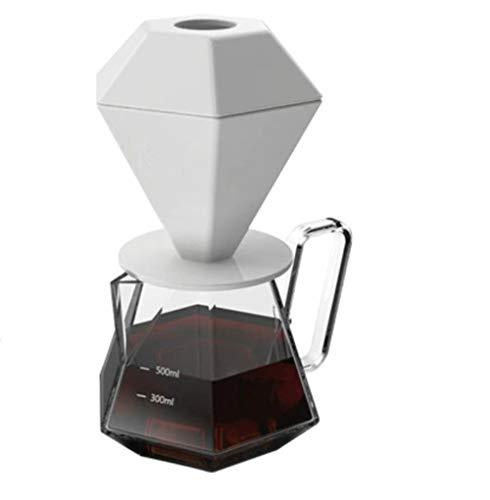 Drip Cafeteras de Drip Cafetera Cafetera de Vidrio Servidor de Café Herramientas de Gotero de Café Set