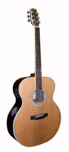 Boulder Creek ESJ4-N Vollkorpus Gitarre mit Suspended Bracing System